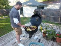 More Cav grilling.