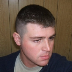 "My new haircut.  This is what a ""High & Tight"" looks like, folks."