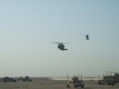 Our air support for said raid.
