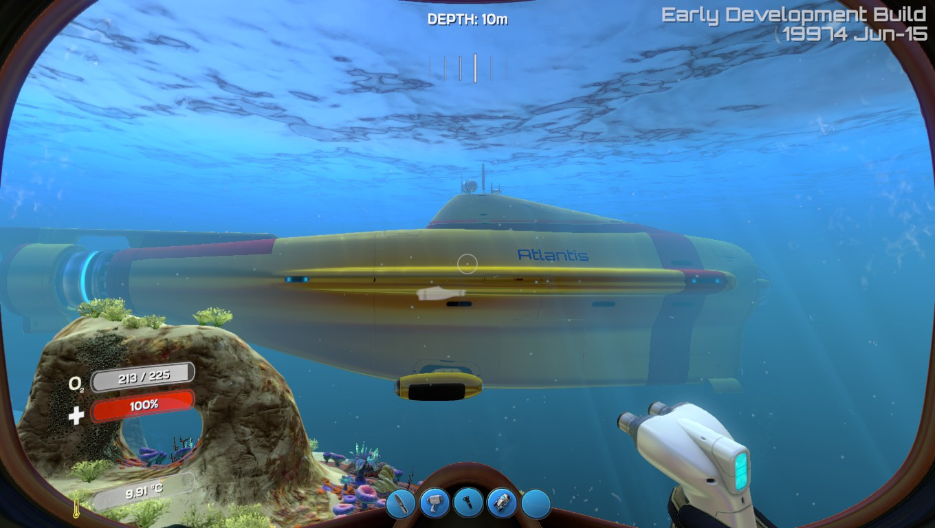 Cyclops Sub in Subnautica