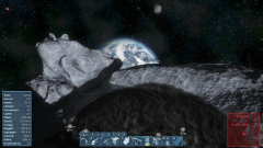 The view from a convenient asteroid.