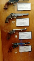 A gun display