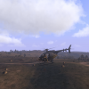 Flying to the mission objective