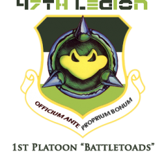 1st Platoon Battletoads Badge
