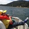 Shofur Jr. Chilling on the Lake.