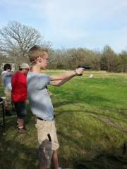 Shooting family Colt 1911 that was used in WWI and WWII for first time!!!