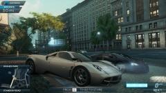 Pagani infront of Bugatti Veyron