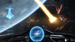 StarCitizenAC  Drills over Planet