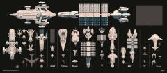 SC Ship Comparisons Smallest