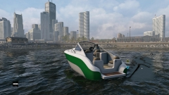 City Boating in Watch Dogs