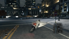 Night Motorcycling in Watch Dogs