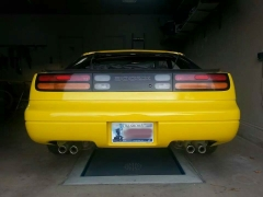 300ZX Rear After Paint