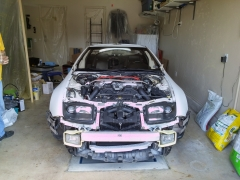 300ZX Prepping For Paint