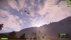 Cargo Plane Attack