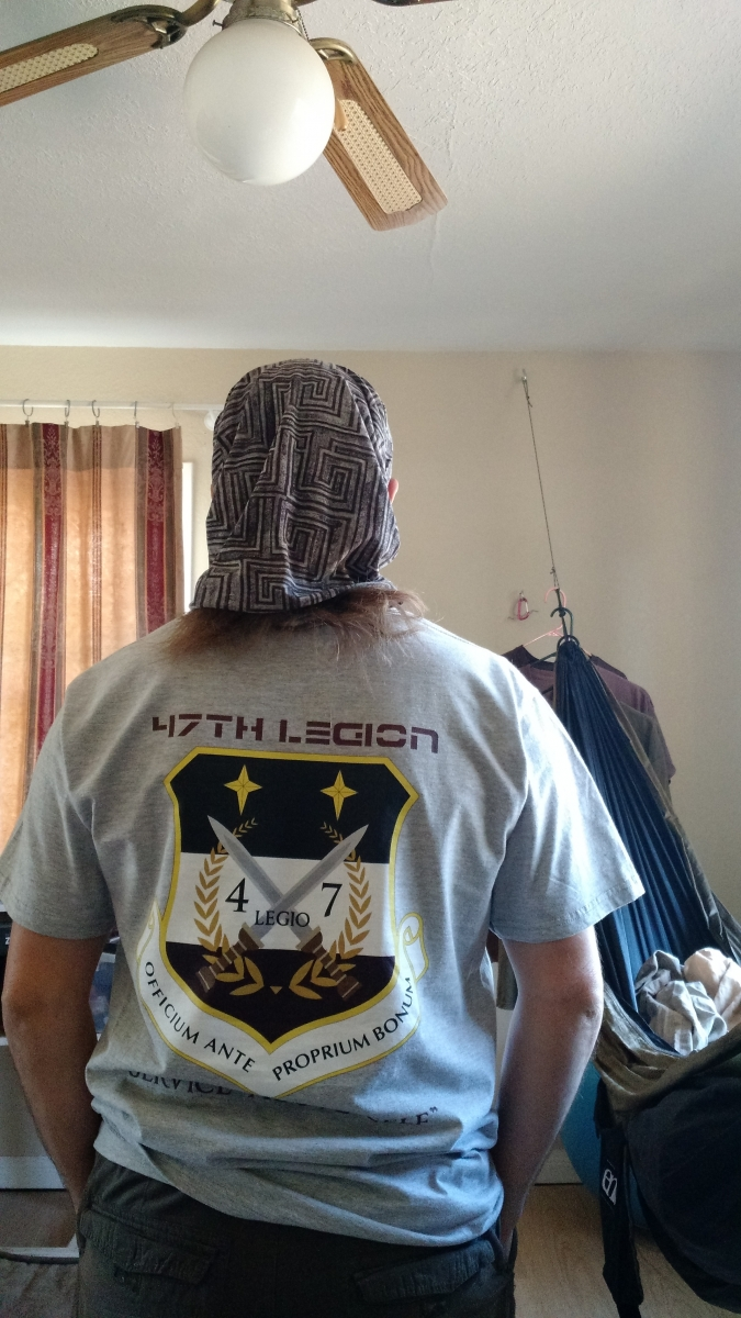 Legion Shirt Back