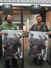 Cav & Odin at the range!